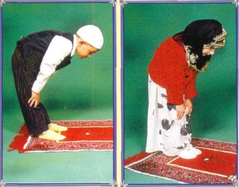 How is Prayer (salah) performed? Will you please explain orderly