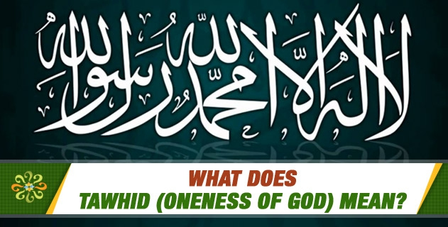 What does Tawhid (Oneness of God) mean?