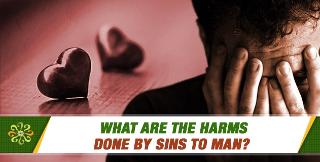 What are the harms done by sins to man?