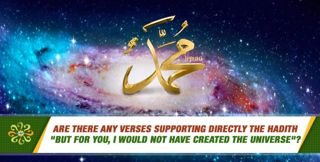Are there any verses supporting directly the hadith
