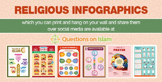 Religious InfoGraphics are available at Questions on Islam.com...