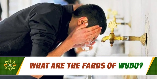What are the Fards of Wudu?